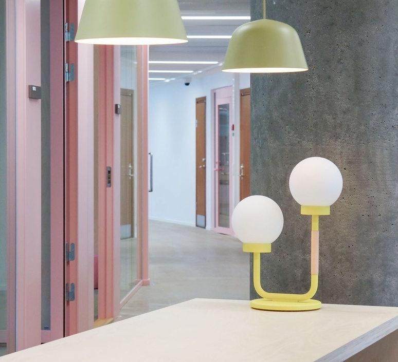 Little darling maria gustavsson lampe a poser table lamp  swedish ninja ltl08   design signed nedgis 118178 product