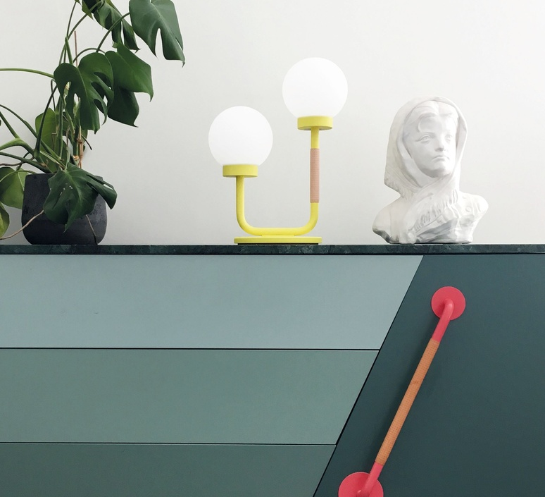 Little darling maria gustavsson lampe a poser table lamp  swedish ninja ltl08   design signed nedgis 118181 product