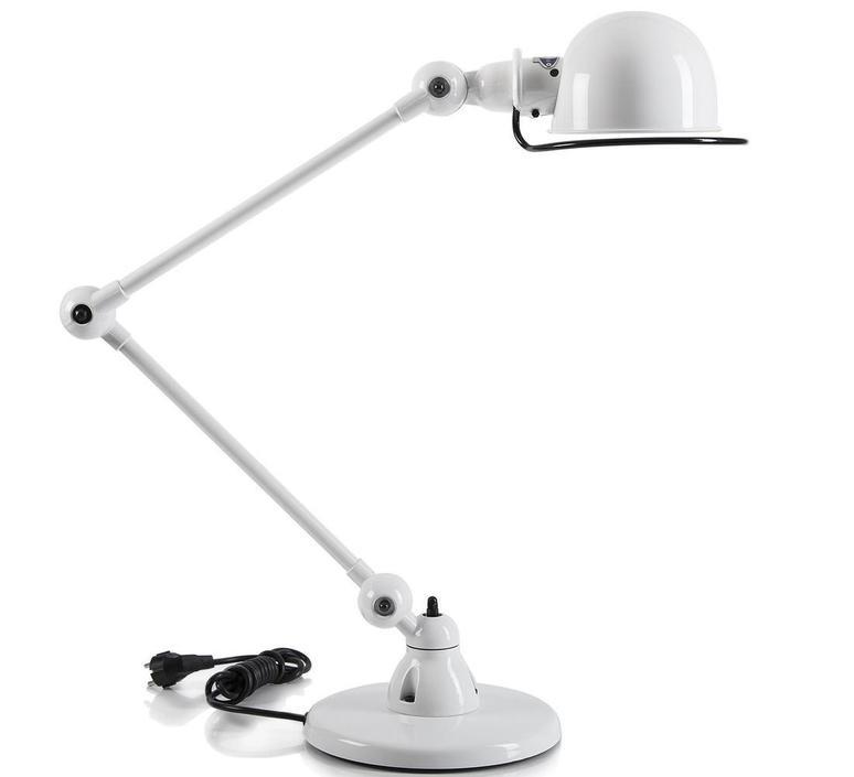 Loft 2 bras jean louis domecq lampe a poser table lamp  jielde d6440 blc  design signed 35967 product
