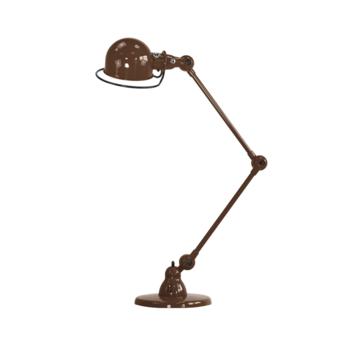 Lampe a poser loft chocolat l80cm h60cm jielde normal