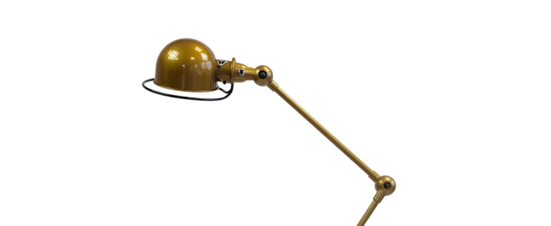 Lampe a poser loft or l80cm h60cm jielde normal