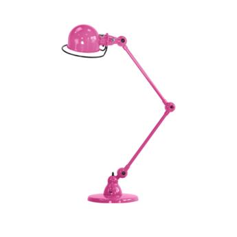 Lampe a poser loft rose l80cm h60cm jielde normal