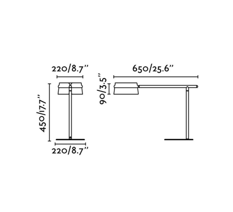 Loop estudi ribaudi lampe a poser table lamp  faro 29568  design signed 114207 product