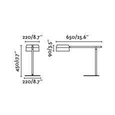 Loop estudi ribaudi lampe a poser table lamp  faro 29568  design signed 114207 thumb