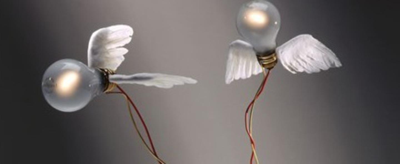 Lampe a poser lucellino tri r blanc rouge o35cm h45cm ingo maurer normal