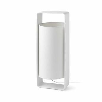 Lampe a poser lula blanc h40cm faro normal