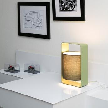 Lampe a poser lula olive h27cm faro normal