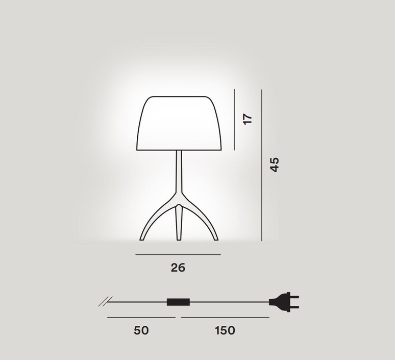 Lumiere grande 30th bulles on off rodolfo dordoni lampe a poser table lamp  foscarini 026021f2 13  design signed nedgis 92434 product
