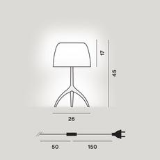 Lumiere grande 30th pastilles dimmer rodolfo dordoni lampe a poser table lamp  foscarini 026021f2 14d  design signed nedgis 92441 thumb