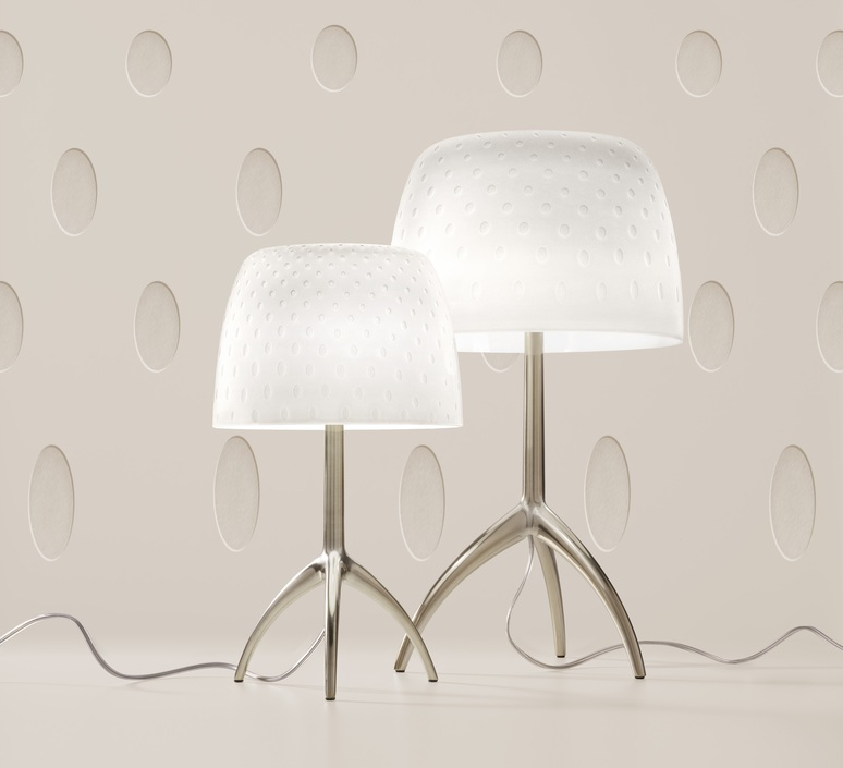 Lumiere piccola 30th bulles on off rodolfo dordoni lampe a poser table lamp  foscarini 0260212f2 13  design signed nedgis 92444 product