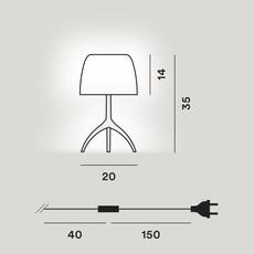Lumiere piccola 30th pastilles on off rodolfo dordoni lampe a poser table lamp  foscarini 0260212f2 14  design signed nedgis 92451 thumb