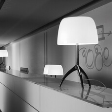 Lumiere piccola rodolfo dordini lampe a poser table lamp  foscarini 0260012r211  design signed nedgis 85260 thumb
