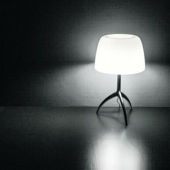 Lampe a poser lumiere piccola blanc o20cm h35cm foscarini normal