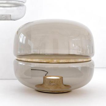 Lampe BlancheLed PoserMacaron TransparentBase À LVerre Nvm80wn