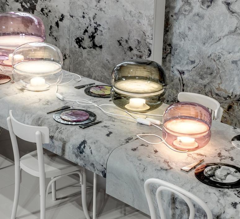 Macaron l  lampe a poser table lamp  brokis pc1040 cgc23 csfb1535 csop1532 cecl521 ceb717  design signed 50481 product