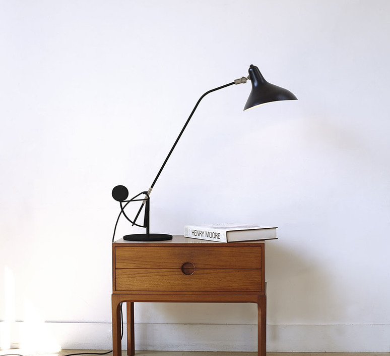 Mantis bs3 bernard schottlander  lampe a poser table lamp  dcw editions bs3 bl  design signed nedgis 92878 product