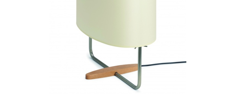Lampe a poser margot nickel o34cm h44cm carpyen normal