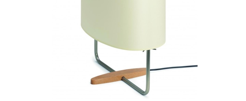 Lampe a poser margot nickel o40cm h55cm carpyen normal