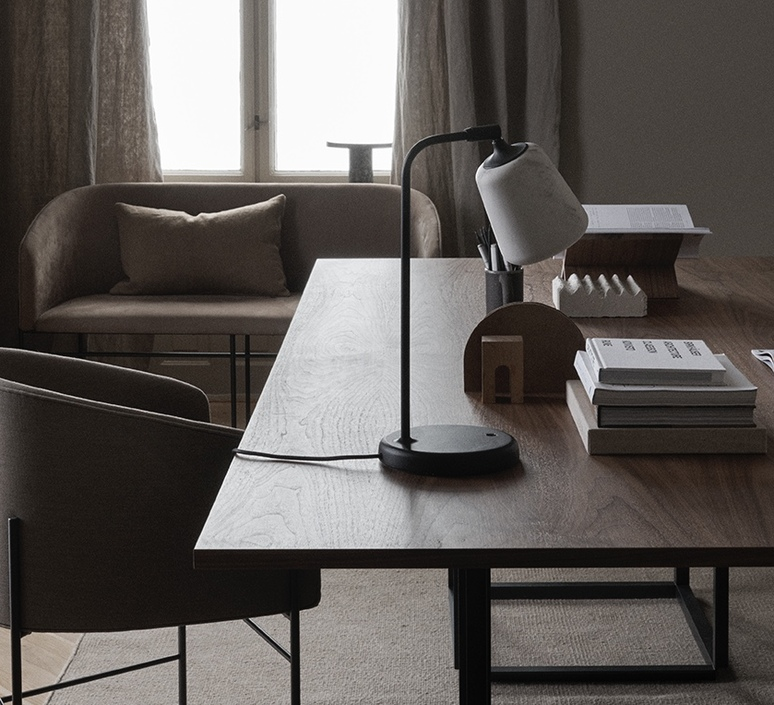 Material noergaard kechayas lampe a poser table lamp  newworks 20143  design signed nedgis 109351 product