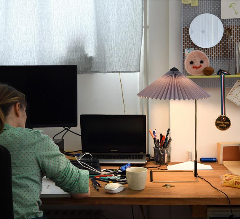 Matin 380 inga sempe lampe a poser table lamp  hay 4191235009000  design signed nedgis 105131 product