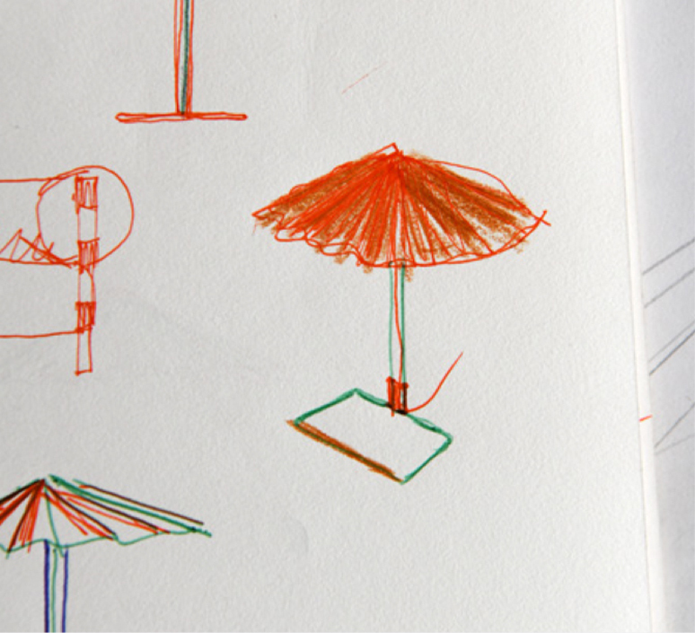 Matin 380 inga sempe lampe a poser table lamp  hay 4191232009000  design signed nedgis 105108 product