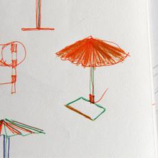 Matin 380 inga sempe lampe a poser table lamp  hay 4191232009000  design signed nedgis 105108 thumb