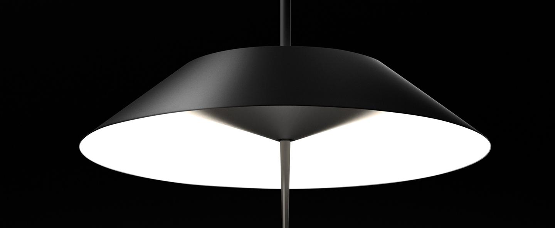 Lampe a poser mayfair graphite 0led 2700k 1841lm o30cm h52cm vibia normal