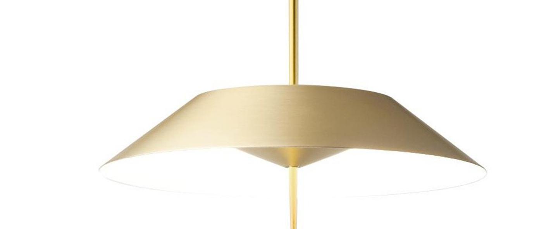 Lampe a poser mayfair or 0led 2700k 1841lm o30cm h52cm vibia normal