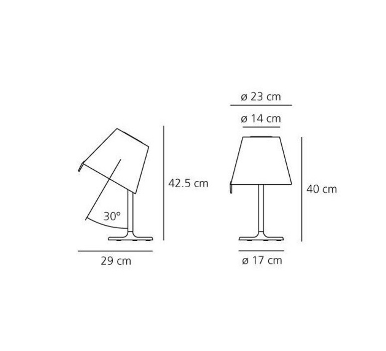 Melampo notte adrien gardere lampe a poser table lamp  artemide 0710020a  design signed 61078 product