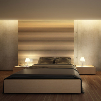 Lampe a poser melampo notte gris o29cm h42 5cm artemide normal
