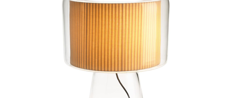 Lampe a poser mercer naturel h25cm marset normal