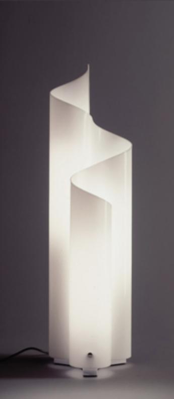 Lampe a poser mezzachimera s blanc o22cm h77cm artemide normal