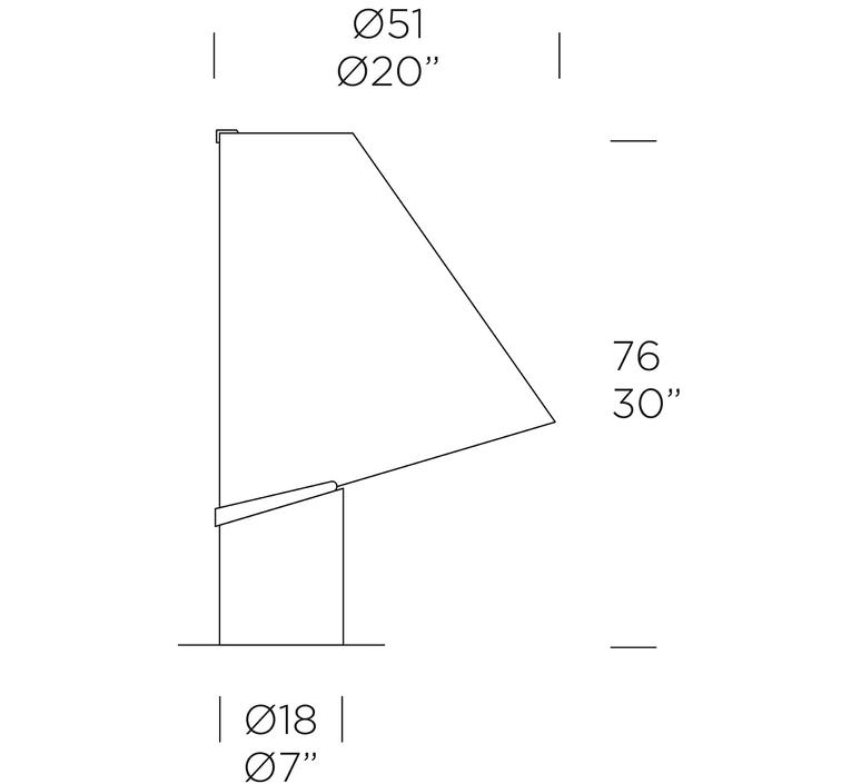 Micene t giusto toso lampe a poser table lamp  leucos 0004038  design signed nedgis 70676 product