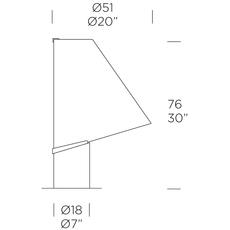 Micene t giusto toso lampe a poser table lamp  leucos 0004038  design signed nedgis 70676 thumb