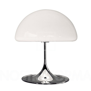 Lampe a poser mico blanc h40cm martinelli luce normal