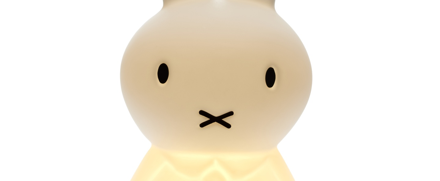 Lampe a poser miffy s blanc h50cm mr maria normal