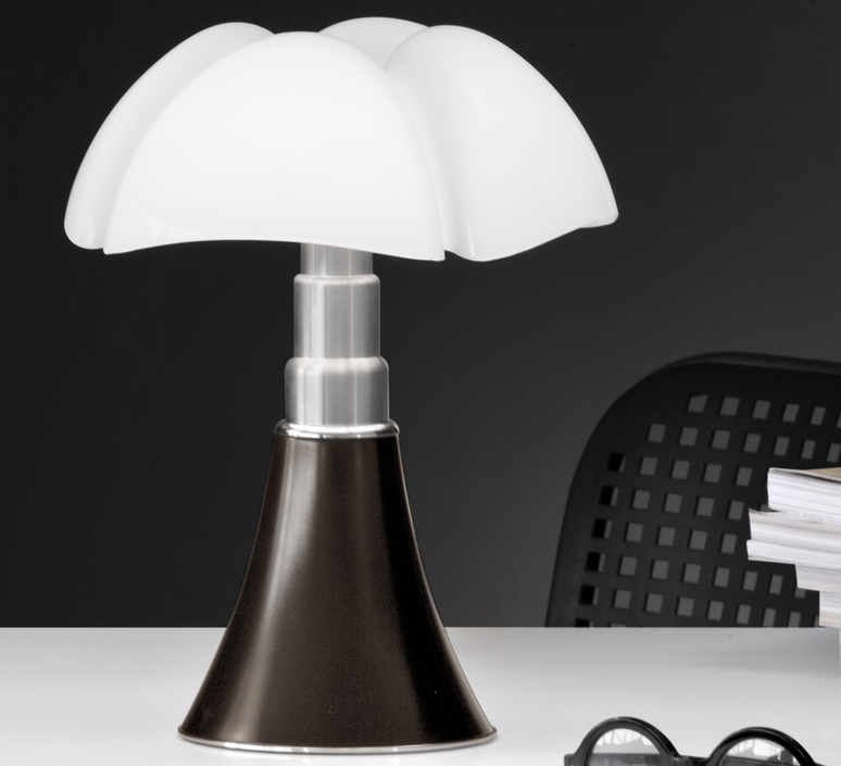 Mini pipistrello sans fil gae aulenti lampe a poser table lamp  martinelli luce 620 j dim t cl ma  design signed 43386 product