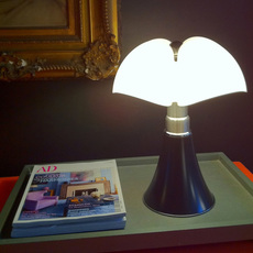 Mini pipistrello sans fil gae aulenti lampe a poser table lamp  martinelli luce 620 j dim t cl ma  design signed 43387 thumb