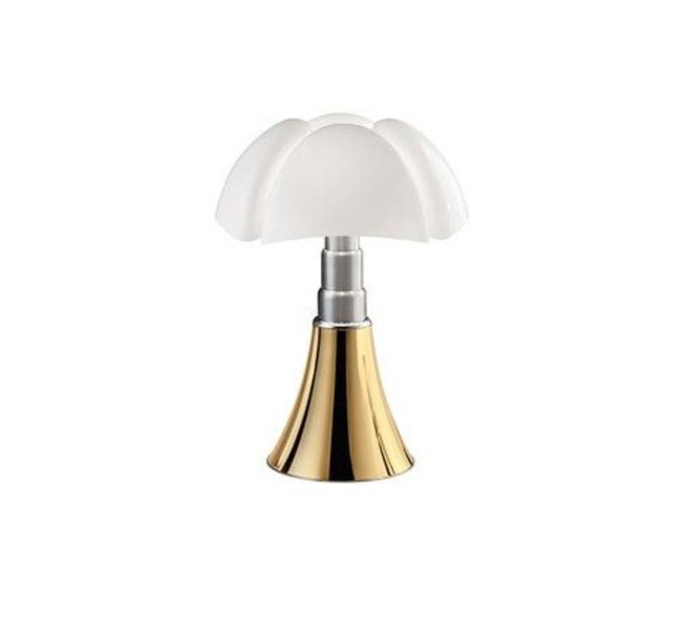 Lampe Luce À PipistrelloLedDoréH35cm PoserMini Martinelli n8OkX0wP