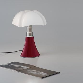Lampe a poser minipipistrello led rouge h35cm martinelli luce normal