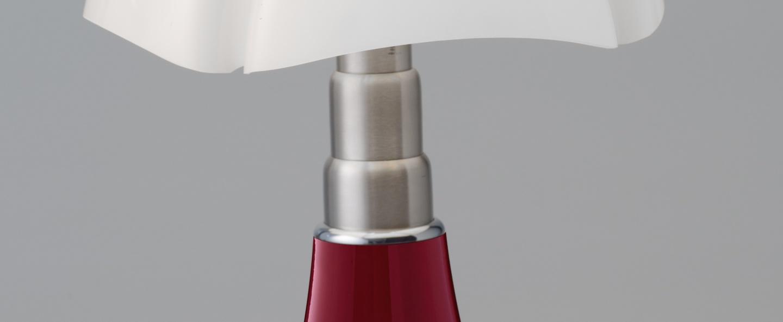 lampe poser mini pipistrello tactile led rouge h35cm martinelli luce luminaires nedgis. Black Bedroom Furniture Sets. Home Design Ideas