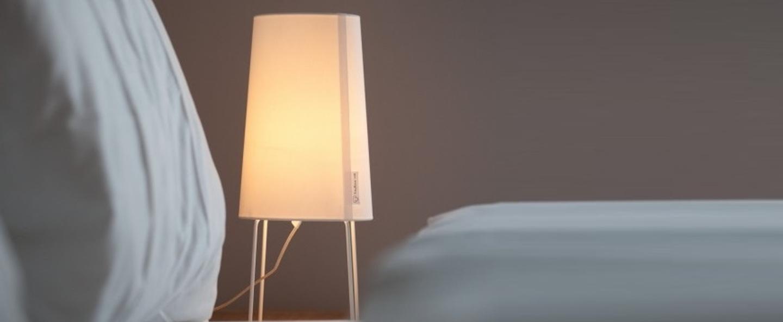 Lampe a poser minisophie blanc h46cm fraumaier normal
