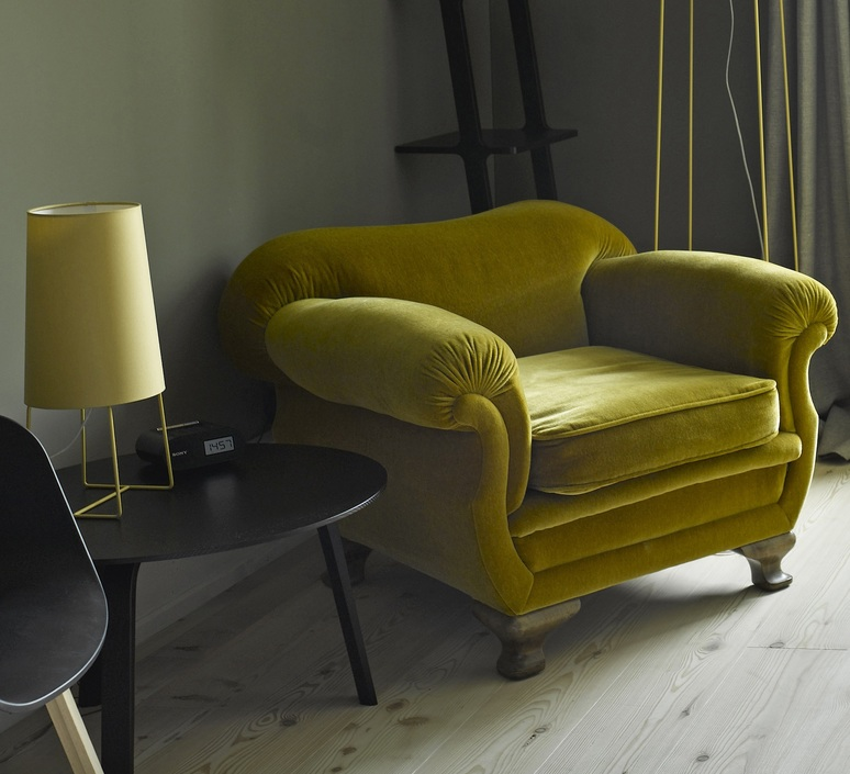 Minisophie felix severin mack fraumaier minisophie jaune luminaire lighting design signed 16849 product