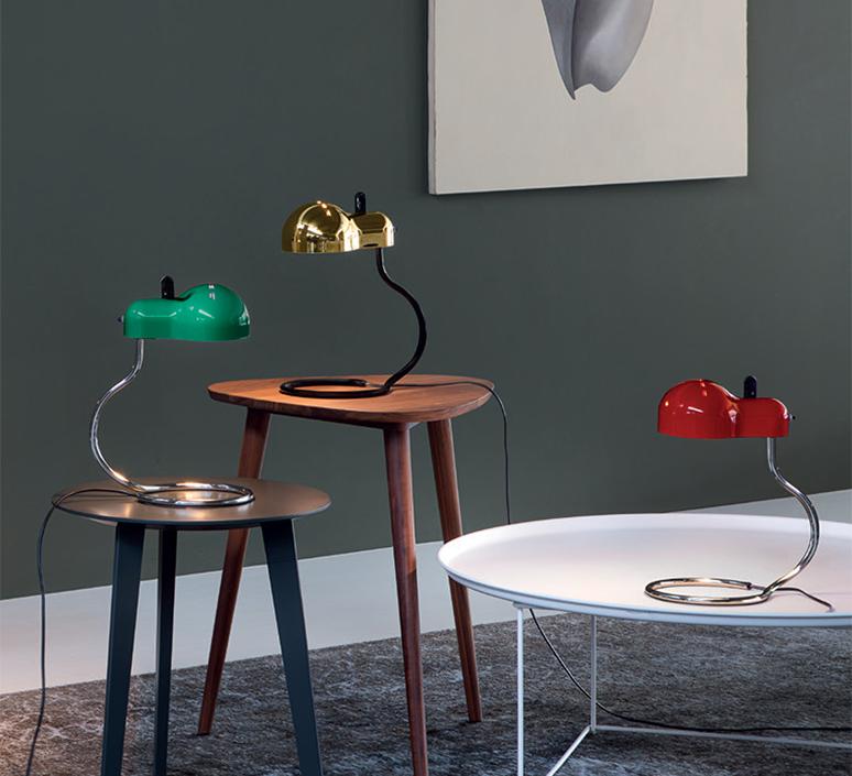 Minitopo joe colombo lampe a poser table lamp  stilnovo 9068  design signed nedgis 119162 product