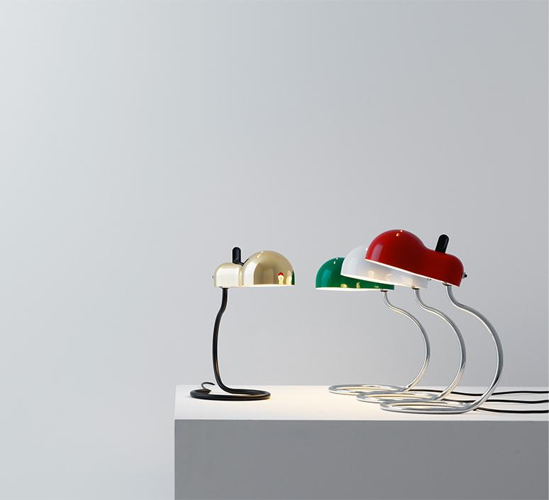 Minitopo joe colombo lampe a poser table lamp  stilnovo 9068  design signed nedgis 119165 product