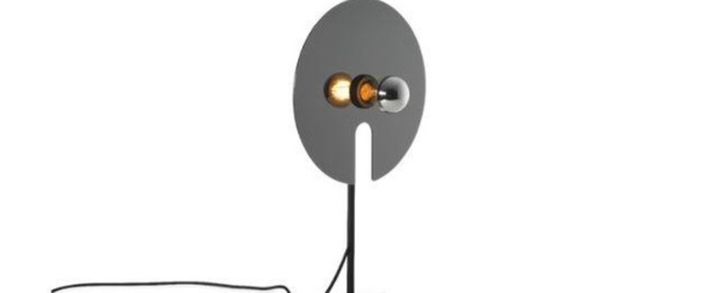 Lampe a poser mirro table 1 0 chrome o30cm h52 5cm wever ducre normal