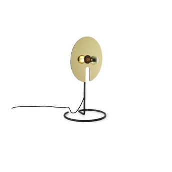 Lampe a poser mirro table 1 0 or o30cm h52 5cm wever ducre normal