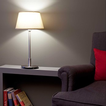 Lampe a poser mitic beige o25cm h50cm faro normal