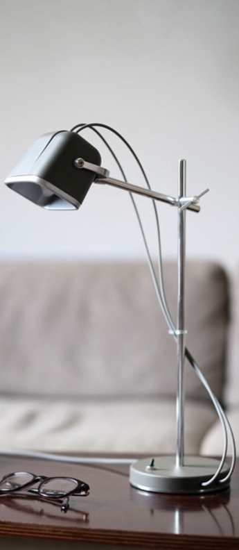 Lampe a poser mob gris cm h55cm swabdesign normal