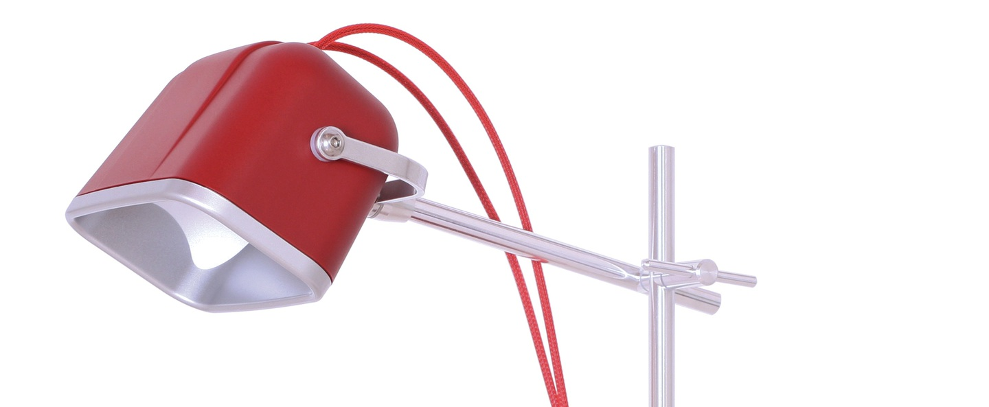 Lampe a poser mob rouge h60cm swabdesign normal